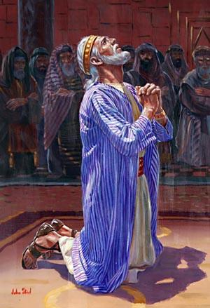 Hiskias ernsth. Gebet