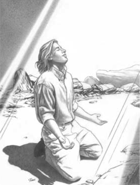 praying knees