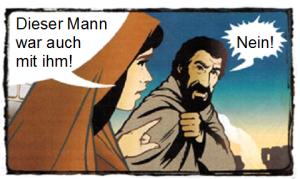 Peter leugnet