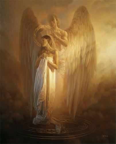 ange couronnement
