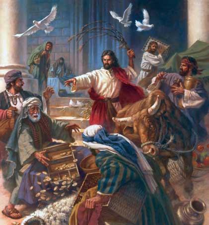 Bildergebnis für Jesus weeps the money changers