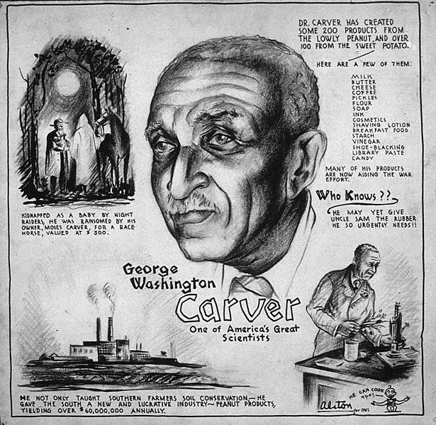 info of artist biography: George Washington Carver: Scientist and ...