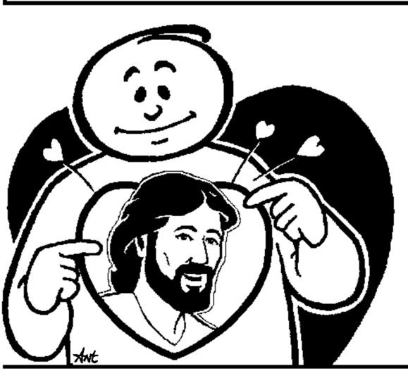 ant-Jesus in heart