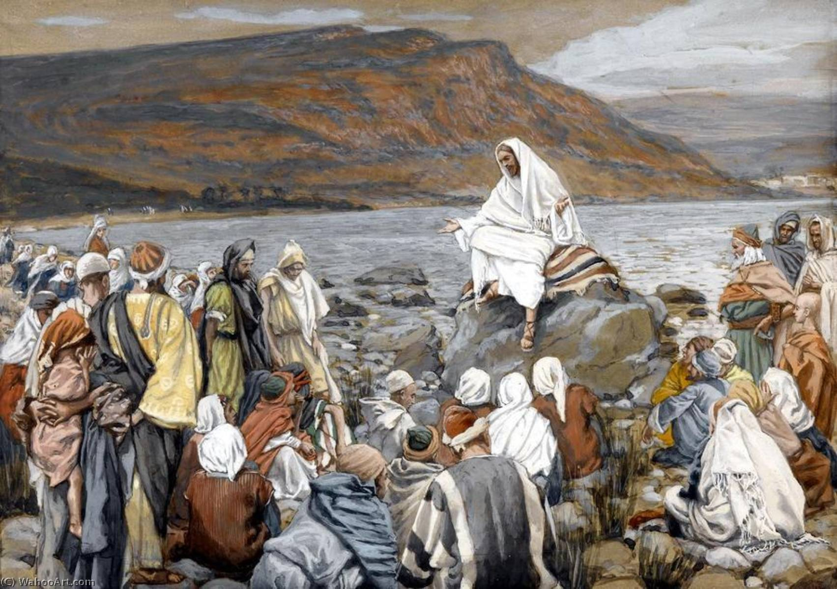 James-Jaques-Joseph-Tissot-Jesus-Teaches-the-People-by-the-Sea