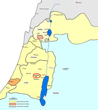 Palästina-Herodes-